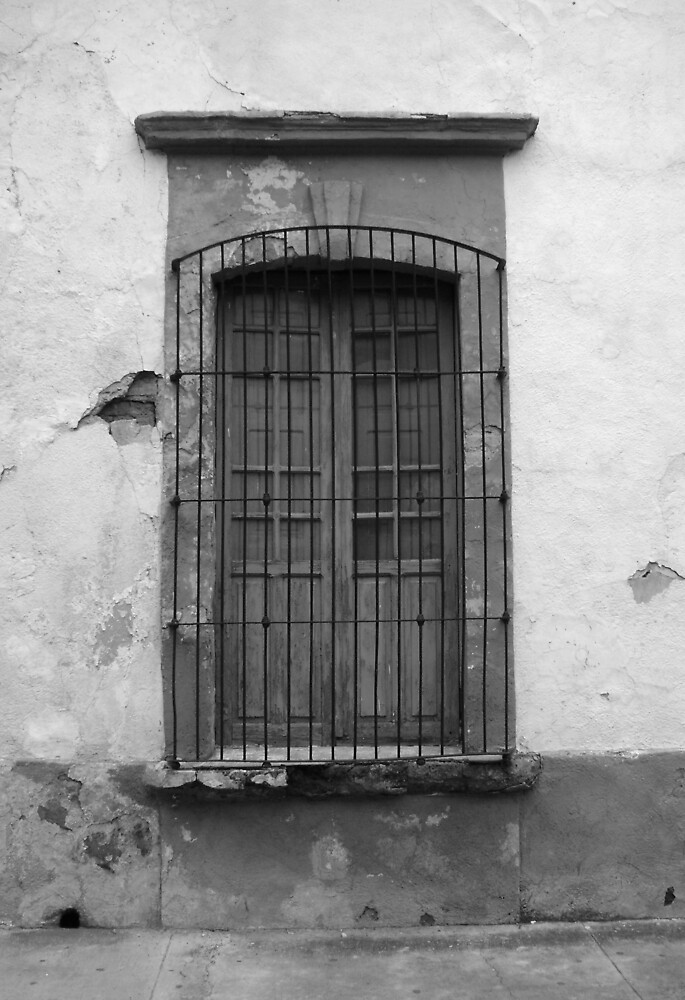 window in the street by rubeno