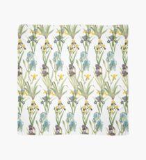 Vintage Floral Pattern | No. 2B | Irises Scarf