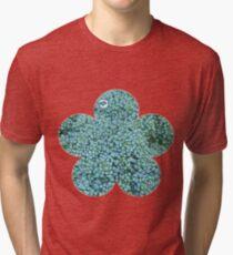 Green Broccoli Florets Tri-blend T-Shirt