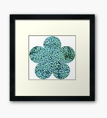Green Broccoli Florets Framed Print