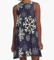 Snowflake A-Line Dress