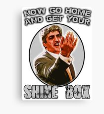 Shine Box  Canvas Print