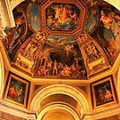 Vatican Ceiling by Barbara  Brown