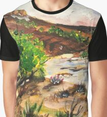 Magaliesburg landscape Graphic T-Shirt