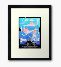 The Account of Aleks Poster: Charity Edition Framed Print