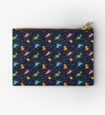 Dinosaurs In Space Studio Pouch