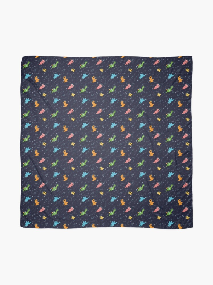 Alternate view of Dinosaurs In Space Scarf