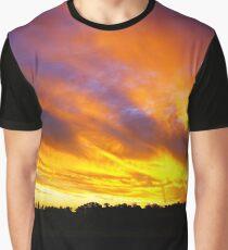 Febuary sunset Graphic T-Shirt