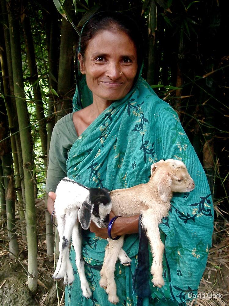 Bangladesh Woman with Kids by David Clark