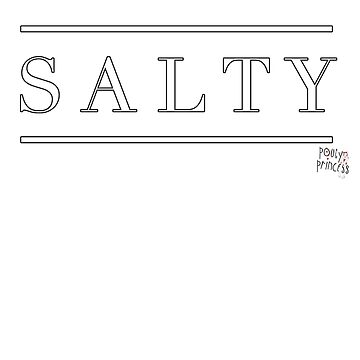 Salty by nophoto
