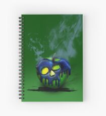 Poison Apple Spiral Notebook