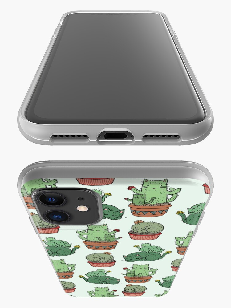 Alternate view of Cactus Cats iPhone Case & Cover