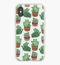 Cactus Cats iPhone Case