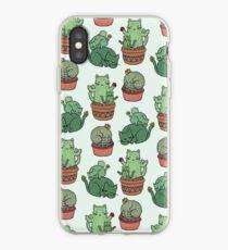 Kaktus Katzen iPhone-Hülle & Cover