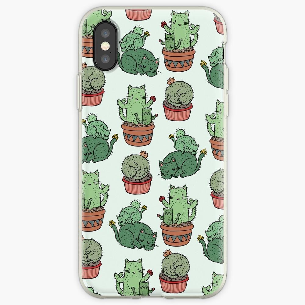 Cactus Cats iPhone Case & Cover