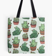Cactus Cats Tote Bag
