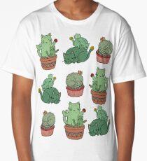 Cactus Cats Long T-Shirt