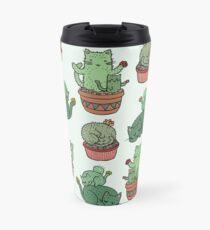 Kaktus Katzen Thermobecher