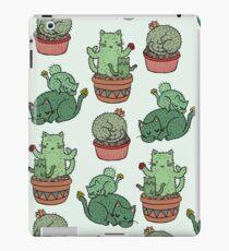 Kaktus Katzen iPad-Hülle & Klebefolie