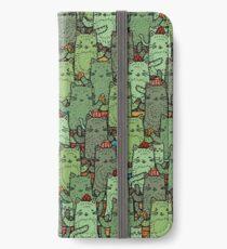 Catcus Garden iPhone Wallet/Case/Skin