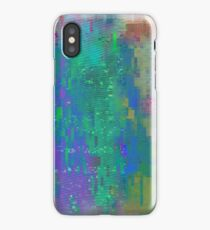 Screen Glitch VHS Texture iPhone Case/Skin