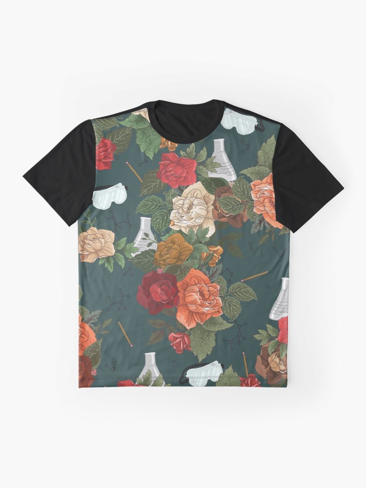 Alternate view of Chemistry Floral Graphic T-Shirt