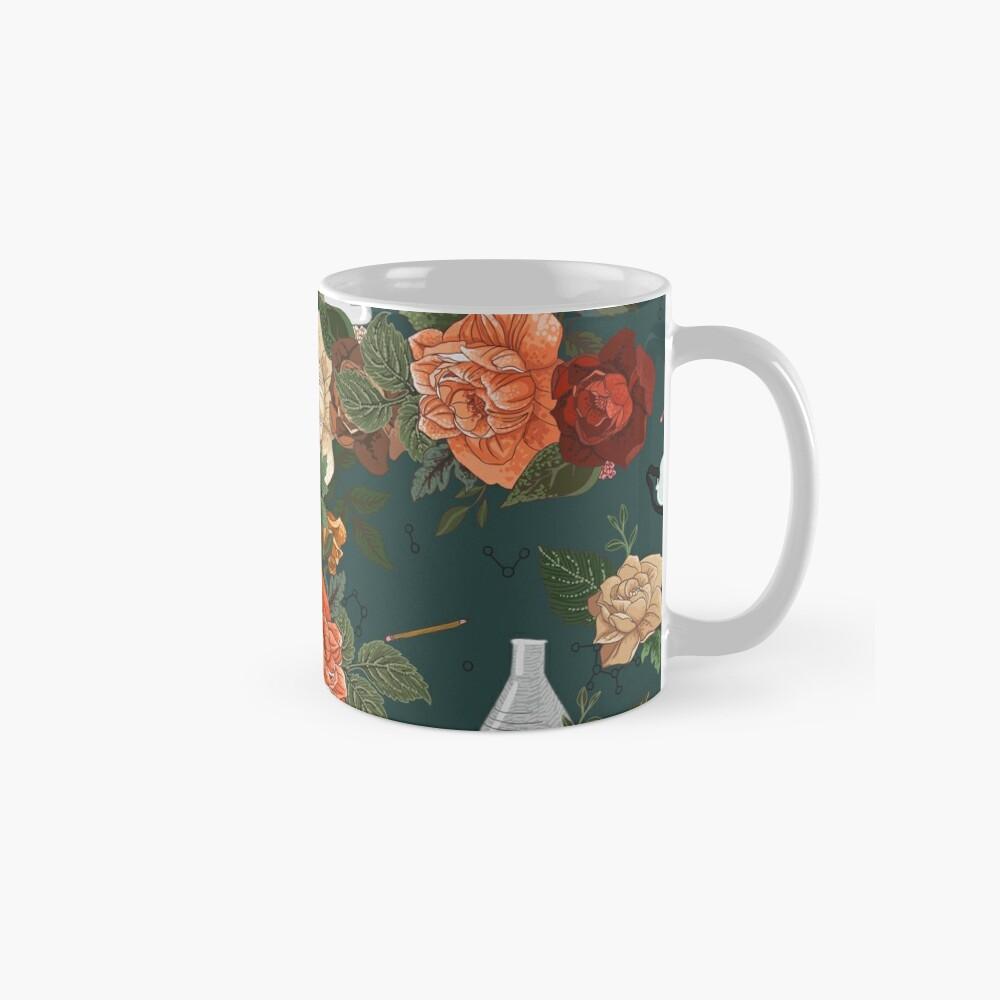 Chemistry Floral Mugs
