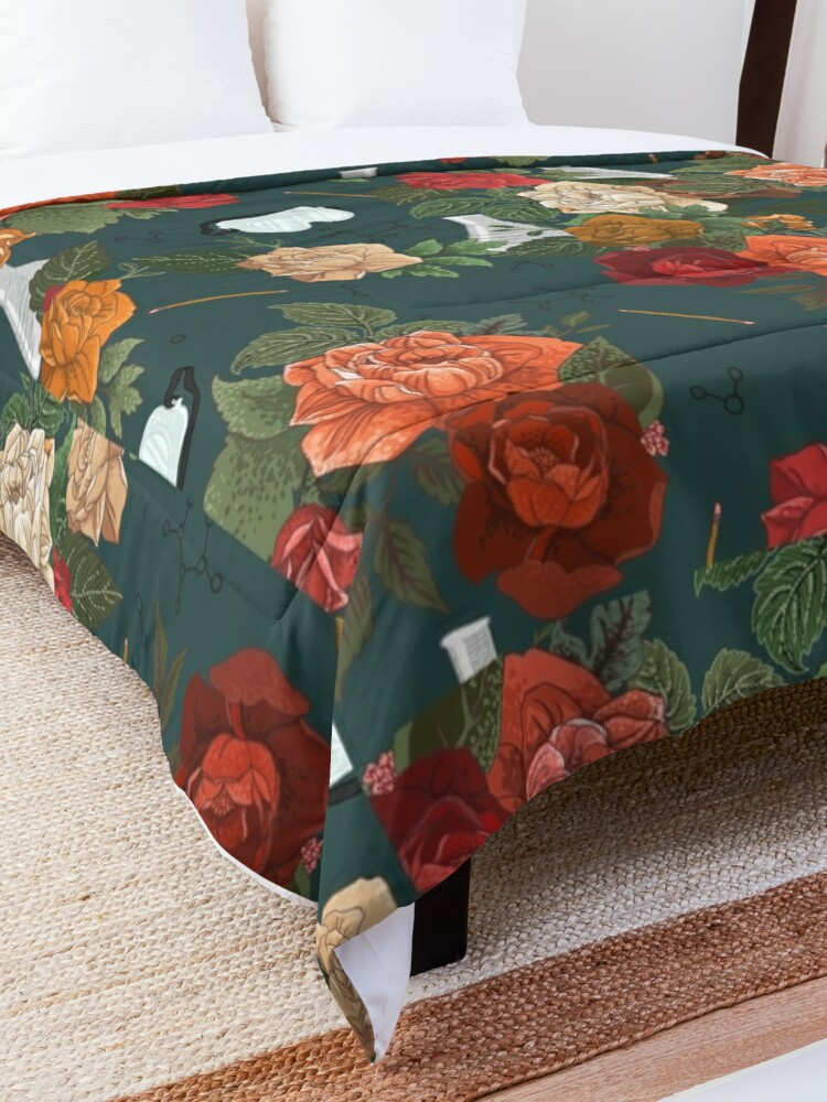 Alternate view of Chemistry Floral Comforter