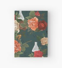 Chemistry Floral Hardcover Journal