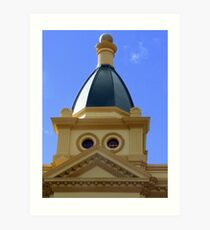 Albert Hall Dome Launceston Art Print