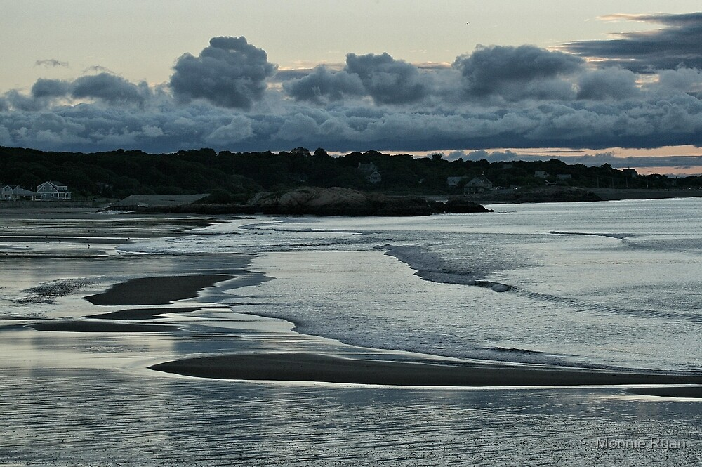Sunset on Cape Ann by Monnie Ryan