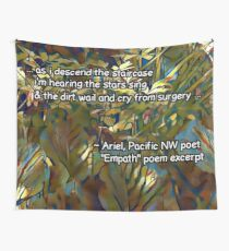 Empath by Ariel poem excerpt Wall Tapestry