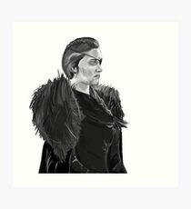 Victorious Queen of the North Art Print