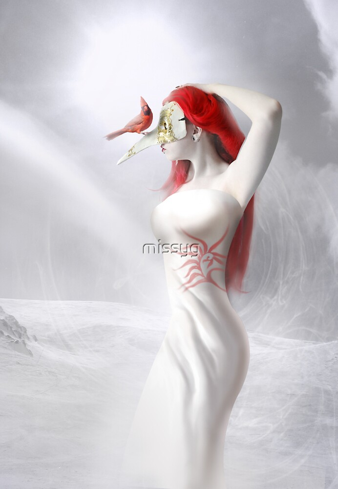 Christmas Cardinal by missyg