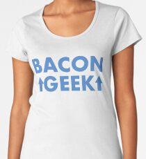 Because I am a Bacon Geek Women's Premium T-Shirt