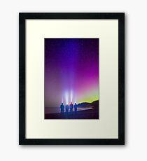 Aurora at Rialto Beach-2 Framed Print