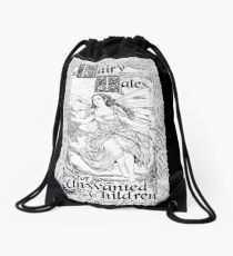Fairy Two, Dark Backgrounds Drawstring Bag