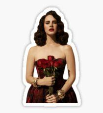 roses, bel air Sticker