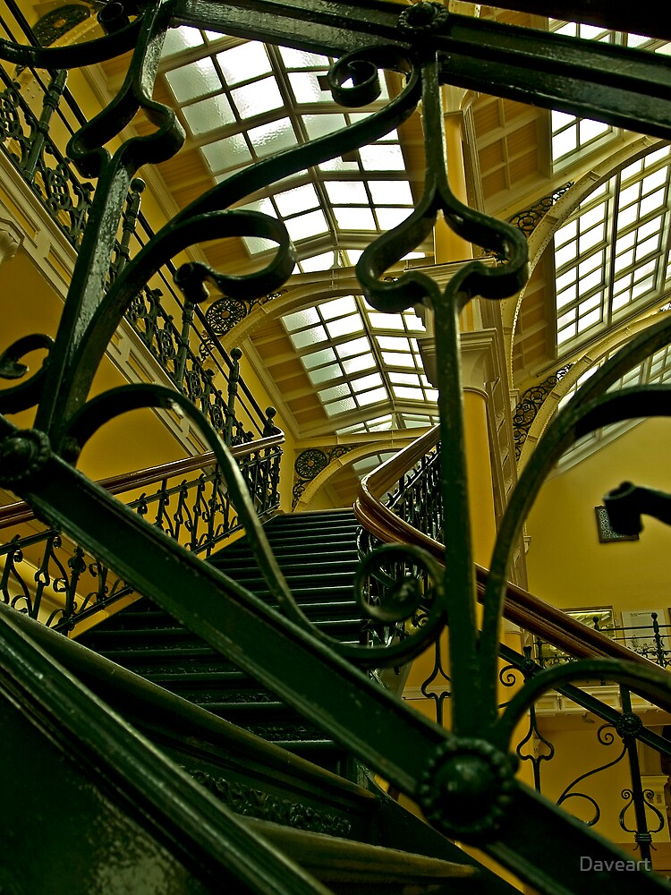 Wrought iron staircase by Daveart