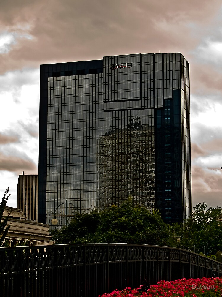 The Hyatt Building Birmingham by Daveart