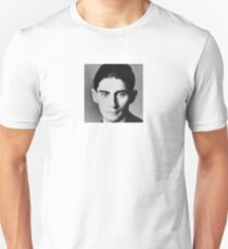 Franz Kafka - black and white T-Shirt