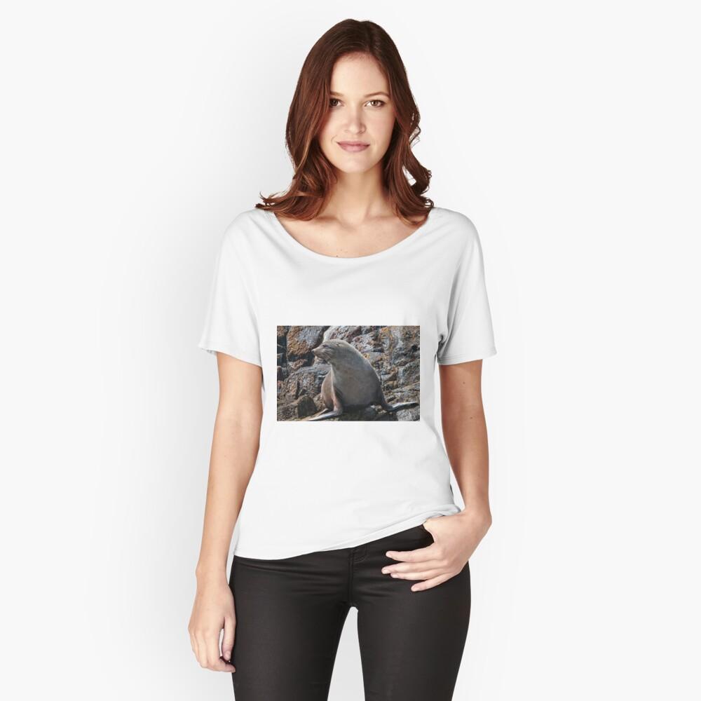 Australian Fur Seal 2 Women's Relaxed Fit T-Shirt Front