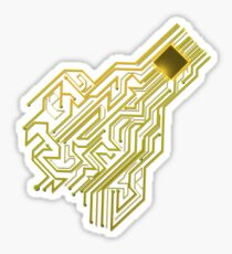 CPU heart for Engineers, Geeks and IT professionals Sticker