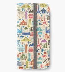 Icons of Travel iPhone Wallet/Case/Skin