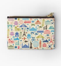 Icons of Travel Zipper Pouch
