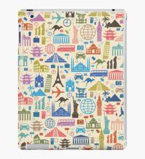 Ikonen der Reise iPad-Hülle & Skin