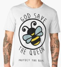 God Save The Queen  Men's Premium T-Shirt
