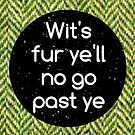Greeting card - Scottish sayings  by Cheryl Morrice