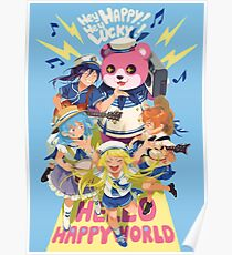 Hello Happy World Poster