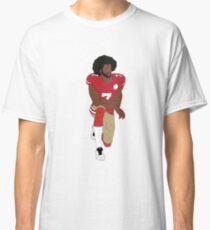 Colin Kaepernick kniend Classic T-Shirt